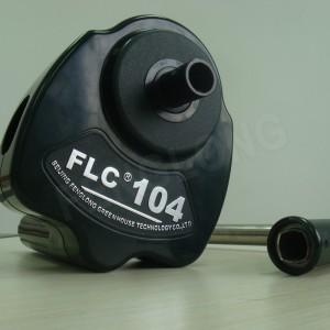 Sản phẩm có đánh giá!  Lốp tay phim Reeler Hand Crank Winch cuộn lên Unit cho Poly Film nhà kính thông gió BS104