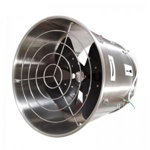 Oona Oloa Cooling ma ea Fan faasalalauina ZLFJ400 / 500, Steel Stainless